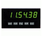 Red Lion Clock/Timer, 6 Digit, Green LED, DC