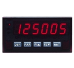 Red Lion Dual Counter/Rate Meter, 6 Digit, Red LED