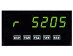 Red Lion Rate Panel Meter, 5 Digit, Green LED