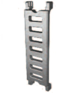 CPS SB-DV100/S Cable Carrier Chain Divider, Side Position
