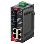 Sixnet 6 Port Industrial Ethernet Switch - SL-6ES-5SCL