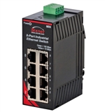 Sixnet 8 Port Industrial Ethernet Switch - SL-8ES-1