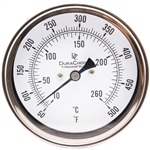 "DuraChoice TA5D60500 Adjustable Thermometer, 5"" Dial"