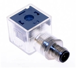 Omal DIN Connector 43650 Form A to M12