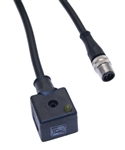 Omal Circuited Solenoid Valve Connector Form A to M12