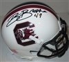 ROBERT BROOKS SIGNED SOUTH CAROLINA MINI HELMET