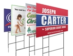 Full Color Lawn Signs