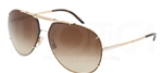 Dolce & Gabbana DG 2075 Iconic Evolution Sunglasses 034/13 Gold,