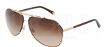 Dolce & Gabbana DG 2102 Iconic Evolution Sunglasses 034/13 Gold,
