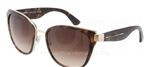 Dolce & Gabbana DG 2107 Transparencies Sunglasses 02/13 Havana,
