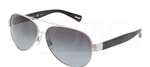 Dolce & Gabbana DG 2118P D&G All Over Sunglasses 1194T3 Silver,