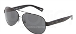Dolce & Gabbana DG 2118P D&G All Over Sunglasses 119587 Black,