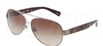 Dolce & Gabbana DG 2118P D&G All Over Sunglasses 119613 Gunmetal,