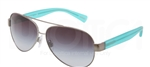 Dolce & Gabbana DG 2118P D&G All Over Sunglasses 12408G Gunmetal,