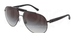 Dolce & Gabbana DG 2119 Over Molded Rubber Sunglasses 11848G Black,