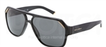 Dolce & Gabbana DG 4138 Iconic Evolution Sunglasses 501/87 Black,