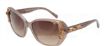 Dolce & Gabbana DG 4167 Sicilian Baroque Sunglasses 267913 Brown,