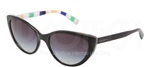 Dolce & Gabbana DG 4181P Stripes Special Project Sunglasses 27178G Black,