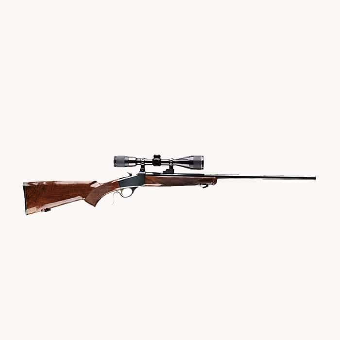 223 Break-Action Scoped Rifle