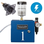 Accu-Lube, 01A1-SAW, Applicator, 1 Pump Boxed, Electric solenoid on/off control (110 VAC) & V-Nozzle (#9692) for band sawing