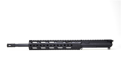 "RF Upper 16"" 300 Blackout RF Quad Rail: FQR 12"" rail"