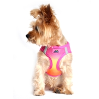 choke free mesh dog harness