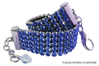 swarovski crystal bling dog collar