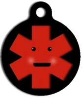 medical identification dog id tag