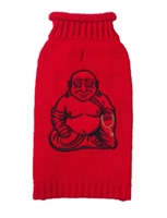 buddha dog sweater