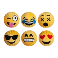 emoji dog toy