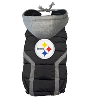 pittsburgh steelers dog jacket