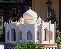 taj mahal custom dog house