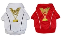 bada bone track jacket for dogs