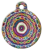 banjara gypsy dog id tag