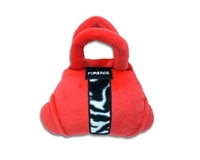 fursace bag dog toy