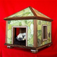 green jasper pet palace indoor dog house