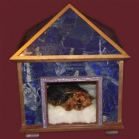 lapis lazuli pet palace indoor dog house
