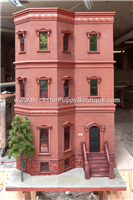 Brooklyn Brownstone Dog House