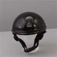 cool skull grey dog helmet