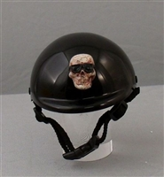 cool bone skull dog helmet