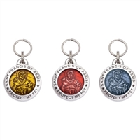 saint francis of assisi dog collar charms