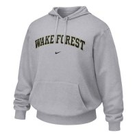 Wake Forest Demon Deacons Hooded Sweatshirt - Nike Classic Hoody