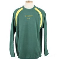 Oregon Nike Practice Fleece Pullover