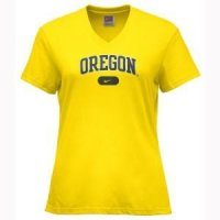 Oregon Ducks Clothing: Women's Nike Arch T-shirt