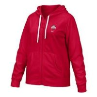 Ohio State Women's College Performance Full-zip Hoody