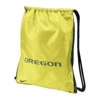 Gold Oregon Nike Home/away Gymsack