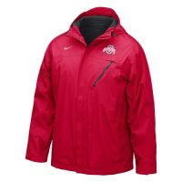 Nike Ohio State Buckeyes Full-zip Conference Storm-fit Jacket
