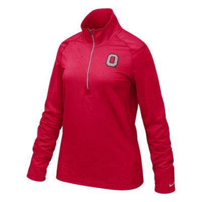 Ohio State Buckeyes - Nike Women's Dri-fit 1/4 Zip Top