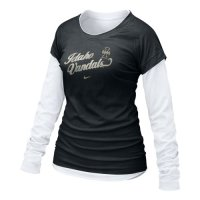 Idaho Vandals Shirt - Nike Women's Cross Campus Double Layer T Shirt
