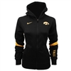 Nike Iowa Hawkeyes Womens Full-zip Performance Hooded Sweatshirt